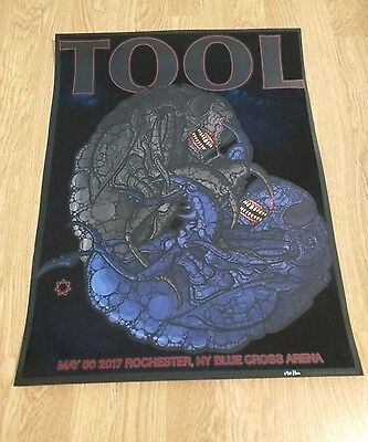 Tool Concert Poster Blue Cross Arena Rochester NY 5/30/17