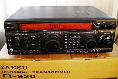 RADIO Yaesu FT-920 transceiver with original mike, brand new in double box.