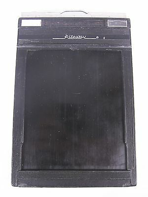 Lot of 6 Riteway 4x5 Large Format Photography Film Back Holders | E-0707