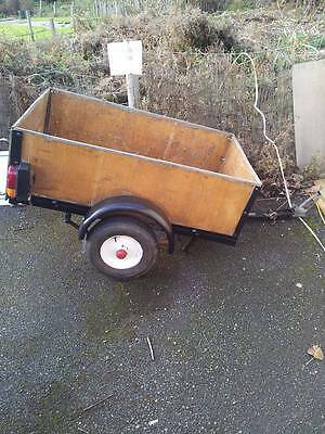 Car Trailer  2.5 foot by 4 foot  with spare wheel .