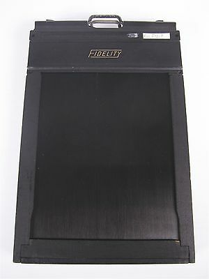 Lot of 6 Fidelity 4x5 Large Format Photography Film Back Holder | E-0706