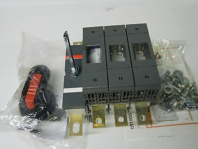 ABB OS 160GB03N3 3 Phase Fused + N, Switch Disconnector 160A