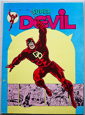 COMICS Super DEVIL n° 1 - RICOPERTINATO Editoriale Corno 1977 - USA DA EDICOLA!
