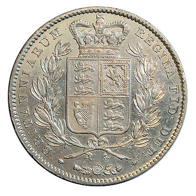 1845 Crown, Victoria Young Head Type