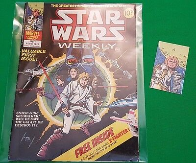 Star Wars Weekly ***RARE - ISSUE #1!!*** Marvel UK 1978 Comic Space Fantasy