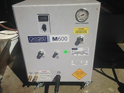 OXFORD INSTRUMENTS M600 HELIUM COMPRESSOR Cryogenic Comp. Great Working