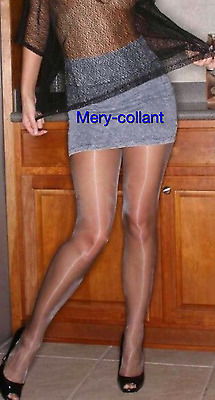 Calze collant usate colore grigio.. Pantyhose used. Work Tights