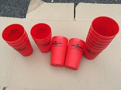 13 X Mount Gay Rum Cups