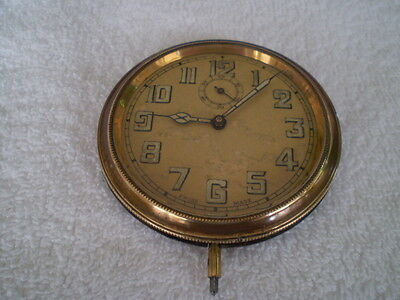 Vintage Swiss Made Car Clock