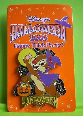Disney Store Dale Halloween 2005 Happy Trick Party Pin Japan