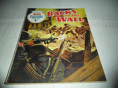 WAR PICTURE LIBRARY NO  386 dated 1967  GOOD for age,great  OLD issue.