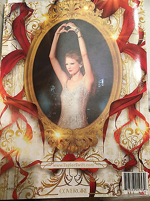 Taylor Swift SPEAK NOW 2011 WORLD TOUR BOOK