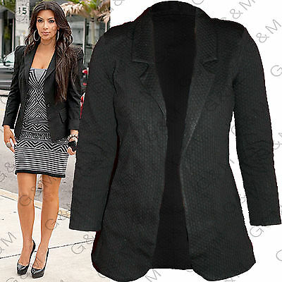 Next Jersey Textured Blazer Jacket Casual Party Formal Womens Ladies Size 6