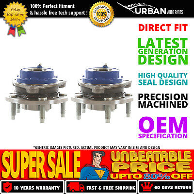 Set of 2 Premium Front Wheel Hub Bearing Assembly (Left and Right Side)