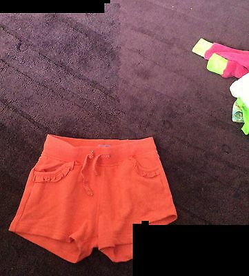 3 Pairs Baby Girls Shorts Age 12-18 Months