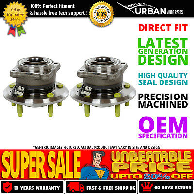 Set of 2 Premium Rear Wheel Hub Bearing Assembly (Left and Right Side)