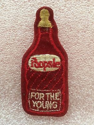 WACKY PACKAGES 1974 Embroidered Poopsie Iron On Patch RARE - Unused
