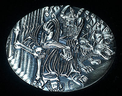 2014 Perth Mint Gods of Olympus Hades 2 oz High Relief Antique Silver Coin