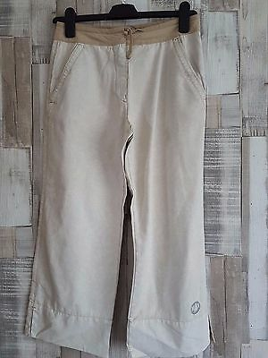 "Murphy NYE Cropped Trousers  Shorts Carpri size 6-8 with tags W28"" Beige  #J108"