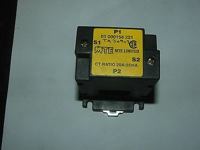 MTE Current Transformer  CT Ratio  20A-25Ma  Motor Control Load Sensing