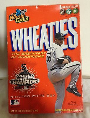 2005 Wheaties Cereal Box Featuring Chicago White Sox pitcher Mark Buehrle