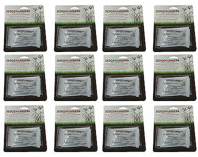 12 Packs of Sedgehammer+ Turf Herbicide 0.5 Oz. (5% Halosulfuron)