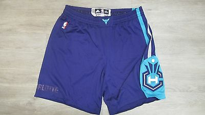 Game Worn/Used Brian Roberts Charlotte Hornets shorts