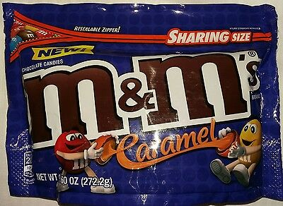 272.2g Medium Packet Caramel flavour m&ms M&M's m and m American Chocolate Candy