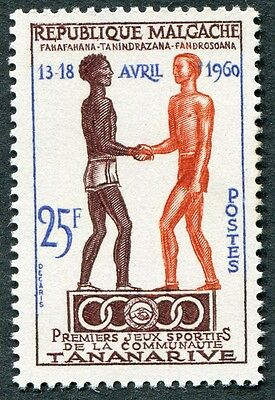 MALAGASY REPUBLIC 1960 25f SG26 mint MNH FG First Youth Games Tananarive #W32