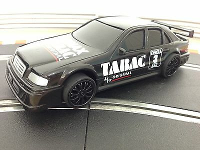 Scalextric Car Mercedes Black SonaxTabac No 3
