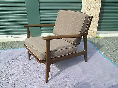 Real Nice Baumritter Mid Century Danish Modern Arm / Lounge Chair Greyhound Ship