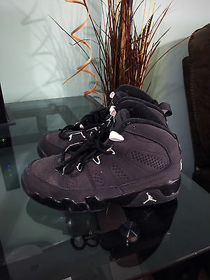 Nike Air Jordan Retro IX 9 Anthracite 401811-013 Youth Boys Kids Sz 13.5