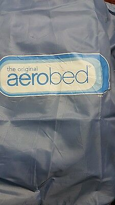 New AeroBed 02123 Queen Size Inflatable Air Bed Mattress & Built-In Pump Airbed