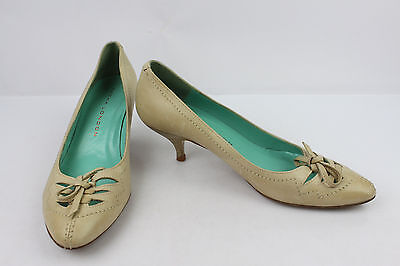 Court shoes SACHA LONDON All Leather Beige T 38,5 C VERY GOOD CONDITION