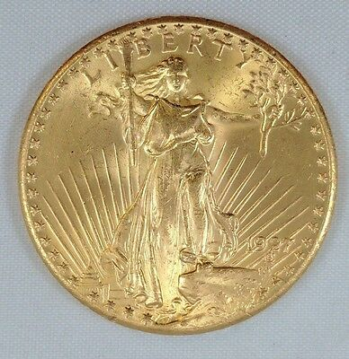 1927 $20 St. Gaudens Gold Double Eagle