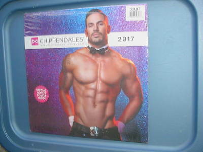 The Chippendales 2017 Calendar 16 month Sealed