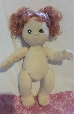 DOLL R2 - My Child Strawberry Blonde Red Head Nude Original Hair Style & Ribbons