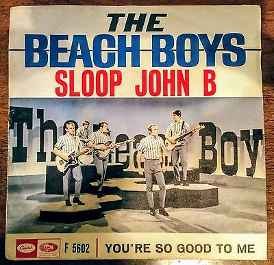 Beach Boys 45 giri Sloop John b