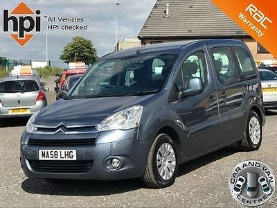 2008 58 Citroen Berlingo 1.6 Multispace Vtr 16V 5D