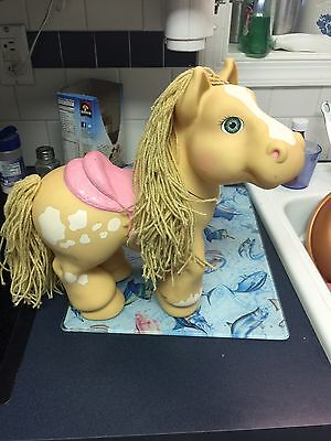 Hasbro Cabbage Patch CPK Pony Horse Crimp And Curl 1992 12 in