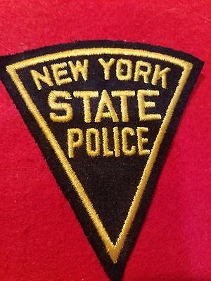 Super rare 1930s New York State Police prototype patch