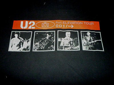 U2 Elevation Tour Shirt ( Used Size XL ) Nice Condition!!!