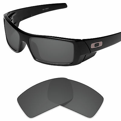 Carbon Black Replacement Lenses for-Oakley Gascan Polarized by Tintart
