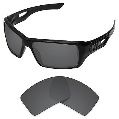 Carbon Black Replacement Lenses for-Oakley Eyepatch 1/2 Polarized by Tintart