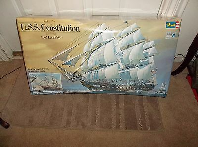 Vintage 1976 Revell USS Constitution Very Large Scale, Sealed Model Kit