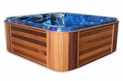 The BILLABONG  DELUXE 5 Person Outdoor Spa-Trueform NZ--$5390