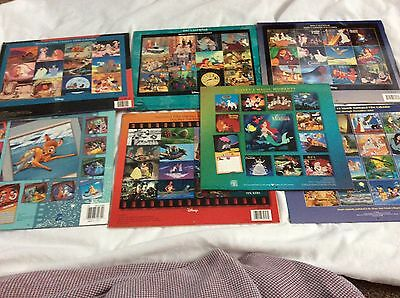 Lot of 7 Vintage Disney Mickey Minnie Mouse & Film Classics Calendars 1996 - 04