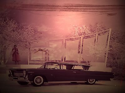 1950s Lincoln Continental Car Photo Promo 8x10 Transparency AE