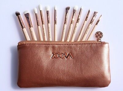 Set de 12 pinceaux ZOEVA rose brushes