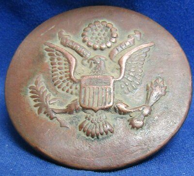 Civil War to Indian Wars Army Enlisted Hat Badge NEEDS REPAIR